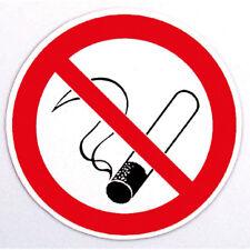 PVC Aufkleber Sticker rund 7 cm NICHTRAUCHER Rauchverbot 302003
