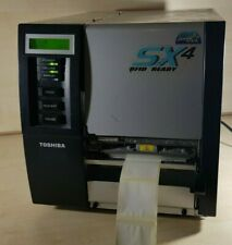 Toshiba TEC B-SX4T Thermal Transfer Label Printer PLUS CABLES