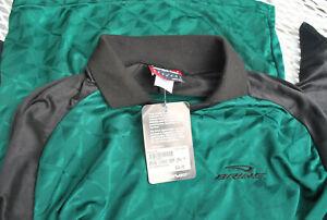 NWT Brine Goalie Shirt Soccer Medium Classic Keeper Jersey Green Black Vintage
