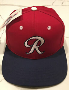VTG Richmond Braves Snapback Hat Minor League Baseball Cap NWT Made In USA Twins
