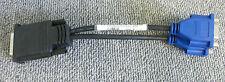 Dell g9438 Molex Dms-59 Macho A Doble Vga Hembra Y Splitter 9 pulgadas de largo Cable