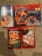 Lot of 5 Harlequin Temptation Romance Books