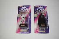 Star Wars Figurine Stamper Lot of 2 Darth Vader & Stormtrooper