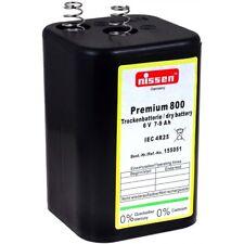 Laternenbatterie OEM 4R25 6V-Blockbatterie 6V 7900mAh/47Wh Zink-Kohle Schwarz