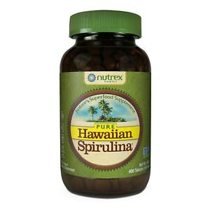 Pure Hawaiian Spirulina - 500mg tablets 400 count – Boosts Energy and Suppo...