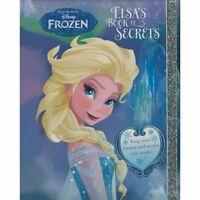 DISNEY FROZEN Elsa's Book of Secrets Hardback Book NEW