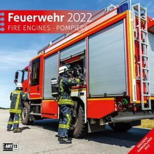 Feuerwehr Kalender 2022 - 30x30