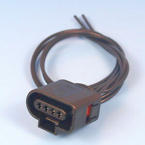 VW AUDI VAG 1J0 973 704 4 Pin Pre Wired Pigtail Connector Plug 1J0973704 4819035