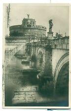 ROMA Castel e Ponte S. Angelo - Viaggiata 1925