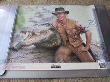 "Paul Hogan ""Crocodile Dundee"" stunning signed large 11x14 Photograph - JSA AUTH"