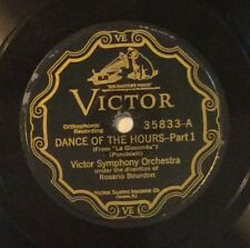 Victor Symphony Or on 78 rpm Victor 35833: Gioconda-Dance of the Hours (2 parts)