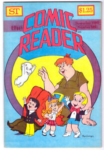 THE COMIC READER #138 in NM- condition a 1980 pub Harvey cover RICHIE RICH