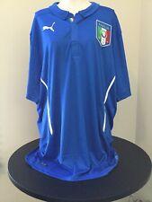 ITALY 2014 2015 HOME FOOTBALL SOCCER SHIRT PUMA MAGLIA CALCIO SIZE XL MENS