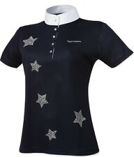Stunning Equi-Theme Stars Show/Competition Shirt Small