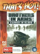 New listing BROTHERS IN ARMS PC GAME EARNED IN BLOOD UBISOFT