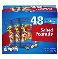 Planters Salted Peanuts, 1 oz. Bags (48 Pack)