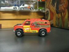 Vintage 1979 Hot Wheels Scene Machines MOTO CROSS TEAM Motorcycle Van Mint