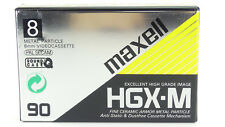 MAXELL 90min (8mm) Video8 CamcorderVideo Kassette P5-90HGX-M NEU(world*)010-084°