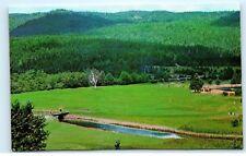 Golf Course at Keltic Lodge Cape Breton Nova Scotia Canada Vintage Postcard B26