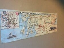 McCorquedale & Co Ltd Carriage Poster 'The Caledonian Railway Panoramic Map'weat