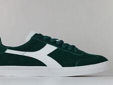 45 Scarpe casual da uomo stringhi verde