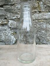 Collectable Vintage Pint Glass Milk Bottle