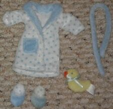 Madeline Doll Bath Robe Set - Splish Splash Set~Duck~Slippers~Robe - Euc w Box