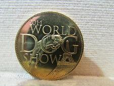medaille metal doré 2011 world dog show arthus bertand tresors de france