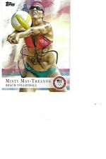 MISTY      MAY-TREANOR    USA            AUTOGRAPHED    CARD