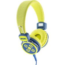 Moki Kids Safe Volume Limited Headphones - Yellow & Blue