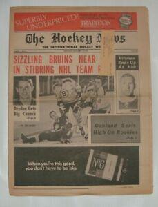 THE HOCKEY NEWS NOVEMBER 30 1968 Vol.22 # 8 Dave Dryden Gordie Howe # 9 book ad