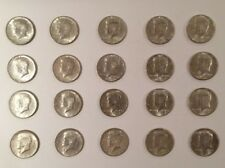 (LOT OF 20) 1964 KENNEDY HALF DOLLARS 90% SILVER (20 COINS) Circulated
