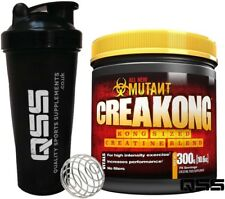 PVL MUTANT CREAKONG CREATINE 300G 75 SERV MUSCLE PUMP STRENGTH FREE SHAKER