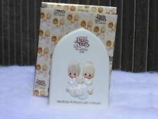 "Precious Moments Plaque ""First Membership Renewal"" Hourglass Marking    Free S&H"