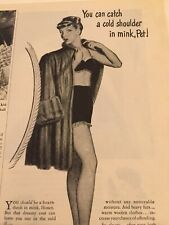 Vintage Photoplay February 1947 Print Ad Ads Advertisement Mum Deodorant