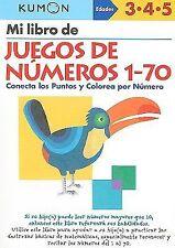 Mi Libro de Juegos de Numeros 1-70 / Number Games 1-70: Conecta Los Puntos Y Col