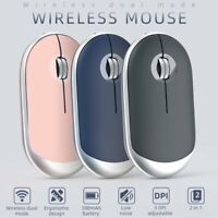 2.4GHz Wireless Cordless Mouse Bluetooth Mice Optical Scroll For Laptop Computer