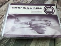 Gloster Meteor F.Mk8 Rare Plane Vacuum Formed Model Kit 1/72 SEALED (1)