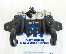 NEW Complete Set of 2002-2007 Jeep Liberty Front Tow Hooks, OEM Mopar