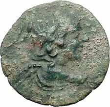ANTIOCHOS VII Euergetes 138BC Eros Cupid Isis Ancient Greek Seleucid Coin i47600