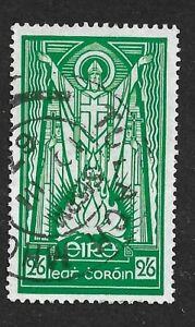 EIRE (IRELAND) 1967 - 2/6d Green (chalk paper) - ST. PATRICK - SG123b Fine used