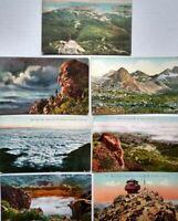 Early 1900s Mt. Tamalpais California Postcard Lot of 7 EI