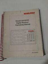 Anilam  Wizard Series 900/900E Manual