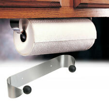 Kitchen Towel Paper Roll Holder Wall Mounted Stainless Steel Dispenser