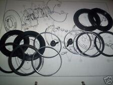 (x2) OPEL KADETT MANTA REKORD étrier de frein avant kits Joints Réparation Girling seulement