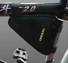 2014 Front Tube Triangle Bag Pouch Black Cycling Bike Bicycle Release Pannier