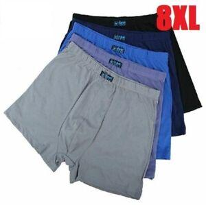 Large Size Cotton Narrow Waist Design Boxer Short Underwear Men Comfortable