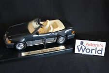 Bauer Master Toys Mercedes-Benz 500 SL Roadster 1989 1:18 dark grey (JS)