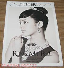 Girl`s Day 2ND ALBUM LOVE HYERI VERSION CD + PHOTOCARD + FOLDED POSTER NEW