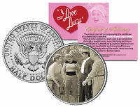 I LOVE LUCY Golf Game * LUCILLE BALL * JFK Kennedy Half Dollar Colorized US Coin